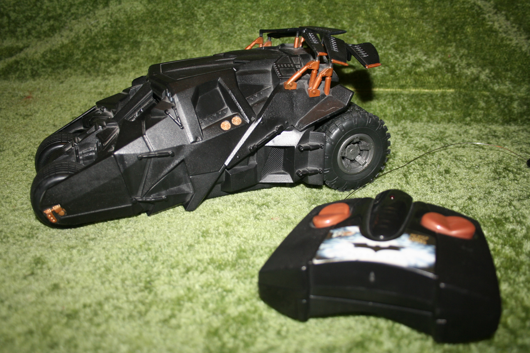Radio Control Batmobile Tyco.