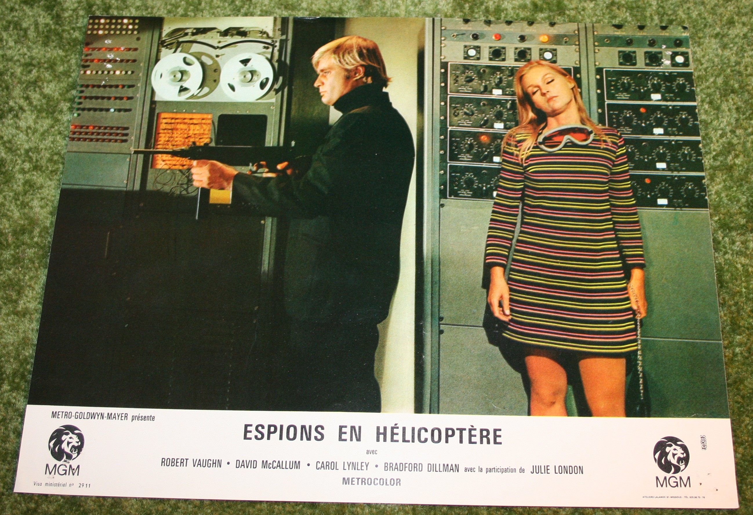 U.N.C.L.E. FOH Still French. The Helicopter Spies. 1968 (6)