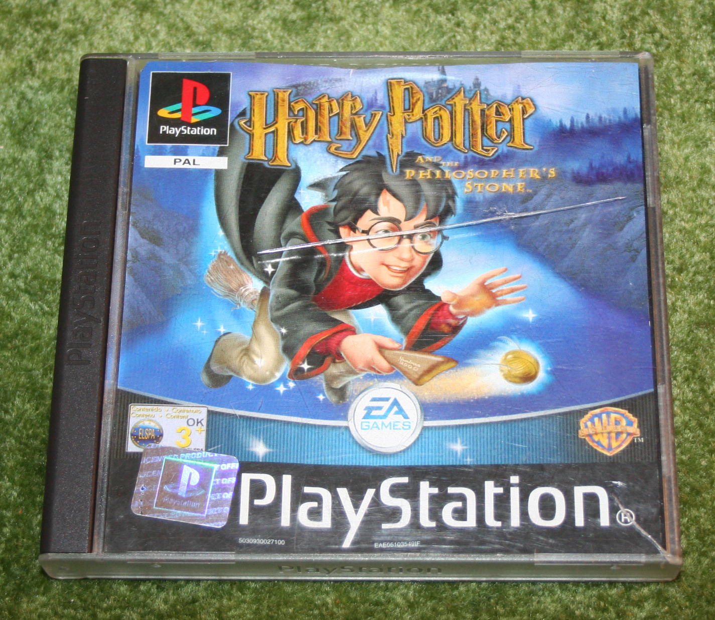 Harry Potter Playstation Game 2001