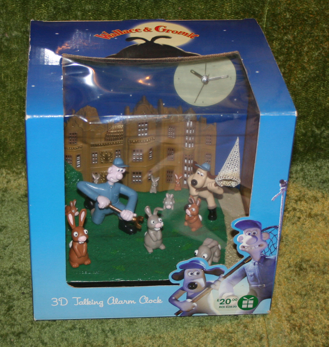 Wallace and Gromit 3D Alarm Clock