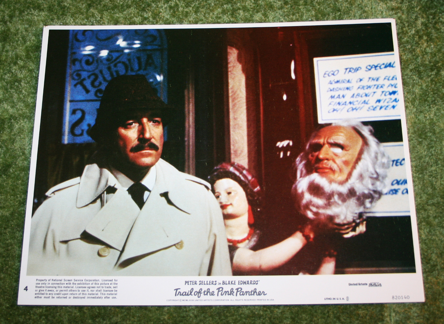 Trail of the Pink Panther Stills